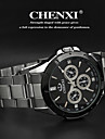 Men's Classic Business Style Steel Strap Quartz Watch Cool Watch Unique Watch