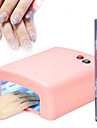 36w uv Nail Lamp Light Therapy Machine 4Light Tube+1Cuticle Revitalizer Oil
