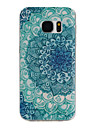 For Samsung Galaxy S7 Edge Pattern Case Back Cover Case Mandala TPU Samsung S7 edge / S7