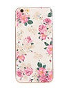 Para iPhone 8 iPhone 8 Plus iPhone 6 iPhone 6 Plus Case Tampa Estampada Capa Traseira Capinha Flor Macia PUT para iPhone 8 Plus iPhone 8