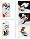 For iPhone 5 Case Flip Case Full Body Case Sexy Lady Hard PU Leather iPhone SE/5s/5
