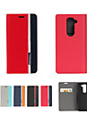 Retro Fashion Deluxe Leather flip Wallet Stand Case For LG LG G2 Mini(D620)D410