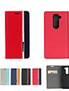 용 LG케이스 카드 홀더 / 스탠드 / 플립 케이스 풀 바디 케이스 단색 하드 인조 가죽 LG LG G4 / LG G3 / LG G16 / LG G2 mini / LG G3 Beat / G3 Mini / LG V10 / LG L70