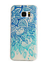 Для Samsung Galaxy S7 Edge С узором Кейс для Задняя крышка Кейс для Мандала TPU Samsung S7 edge / S7 / S6 edge / S6