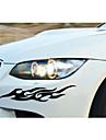 смешно цветистость автомобиля стикер окна автомобиля этикета стены автомобиля стиль (2шт)