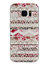 For Samsung Galaxy S7 Edge Pattern Case Back Cover Case Lines / Waves TPU Samsung S7 edge / S7