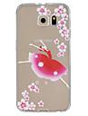 Pour Samsung Galaxy Coque Relief Coque Coque Arriere Coque Femme Sexy TPU Samsung S6 edge plus / S6 edge / S6 / S5