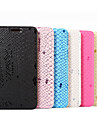 For Samsung Galaxy S7 Edge Wallet / Card Holder / with Stand / Flip Case Full Body Case Lines / Waves PU Leather Samsung S7 edge / S7
