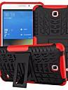 Назначение Кейс для  Samsung Galaxy Чехлы панели Защита от удара со стендом Задняя крышка Кейс для броня PC для SamsungTab 4 7.0 Tab S2