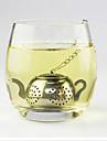 форма чайника чайное ситечко чай заварки из нержавеющей стали мини-плиты
