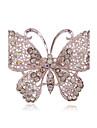 여성 라인석 은 도금 모조 다이아몬드 합금 패션 보석류 결혼식 파티 일상