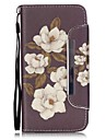 For Samsung Galaxy Case Card Holder / Wallet / with Stand / Flip Case Full Body Case Flower PU Leather SamsungGrand Prime / Grand Neo+ /