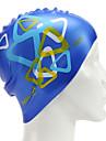 печать силиконовые плавательные шапочки для взрослых (ассорти цветов)