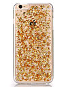 Pour Coque iPhone 5 Transparente Motif Coque Coque Arriere Coque Brillant Flexible PUT pour iPhone 7 Plus iPhone 7 iPhone SE/5s/5