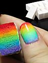 8pcs ongles  outils art gradient eponges douces pour la decoloration manucure accessoires bricolage ongles creatif fournitures