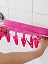 Вешалки Пластик / Текстиль сОсобенность является Дорожные , Для Бельё / Ткань / Стеганныеодеяла / Аксессуар для стирки