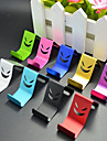 Smile Metal Cell Phone Holder Random Color