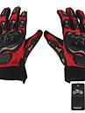 Мотоцикл перчатки Полный палец Кожа / Хлопок / Холст / Сетка / Пластик ABS M Красный