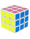 Magic Cube 3*3*3 Speed Smooth Speed Cube White / Black PVC / ABS Toys