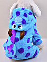 Cat / Dog Costume / Coat / Hoodie / Clothes/Jumpsuit Blue Winter Animal / Cartoon / Halloween Wedding / Cosplay