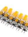 3W G4 Luci LED Bi-pin MR11 1 COB 180 lm Bianco caldo / Luce fredda Decorativo DC 12 / AC 12 V 6 pezzi