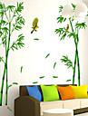 ботанический Наклейки Простые наклейки,PVC 60*90cm(23.6*35.4 inch)