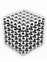 216Pcs/Set 3mm Neo Cube Balls magnetico com Metal Box