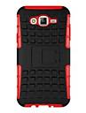 Для Кейс для  Samsung Galaxy Защита от удара / со стендом Кейс для Задняя крышка Кейс для Армированный PC Samsung J7 / J5