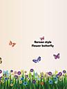 Животные / ботанический / Натюрморт / Мода / Цветы / Отдых Наклейки Простые наклейки,PVC 70*50*0.1