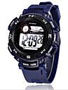 SYNOKE Masculino Relogio Esportivo Relogio de Pulso Relogio digital Digital LCD Calendario Cronografo Impermeavel alarme Luminoso Borracha