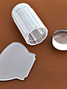 Nail Art Stempelen Plate Stamper schraper 2.8cm for the silicone head