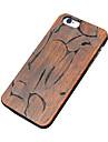 Для Кейс для iPhone 5 Чехлы панели Рельефный Задняя крышка Кейс для Имитация дерева Твердый Дерево для Apple iPhone SE/5s iPhone 5