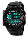 SKMEI Men\'s Sport Watch Digital Watch LCD Calendar Chronograph Water Resistant / Water Proof Alarm Luminous Stopwatch Digital Rubber Band