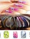 1pcs 1mm 20m unhas ferramentas de linha de fita arte listra etiqueta unha arte beleza decoracao nc124 entrega aleatoria