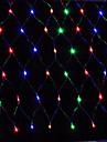 Led Net Light 1.5X1.5M 96Led Net Lights String Wedding Party Holiday Decoration Xmas Light Eu Plug Ac220V Or Ac110V