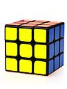 Yongjun® Cub Viteză lină 3*3*3 Viteză Cuburi Magice Estompeze Negru ABS