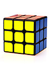 Yongjun® Glatt Speed Cube 3*3*3 Hastighet Magiske kuber Svart Fade ABS
