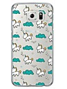 Cartoon Pattern TPU  Ultra-thin Back Cover Case for Samsung Galaxy S6 / Galaxy S5 / Galaxy S4