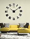 Numeral Clock Oversized 3D Mirror Acrylic Wall Stickers Zhongjing Dian Diy Home Decor