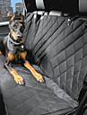 Perro Cobertor de Asiento Para Coche Mascotas Portadores Impermeable / Portatil Negro Algodon