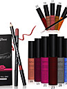 12pcs High Quality Moisture Matte Color Waterproof Lipstick Long Lasting Nude lip stick lipgloss +12pcs Lip Brush