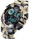 SANDA Мужской Спортивные часы электронные часы LCD Календарь Защита от влаги тревога Светящийся ХронометрКварцевый Цифровой Японский