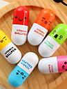 Στυλό Στυλό Στυλό διαρκείας Στυλό,Πλαστικό Βαρέλι Τυχαία Χρώματα μελάνι Χρώματα For Σχολικές προμήθειες Προμήθειες γραφείου Πακέτο