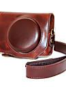 dengpin® pu camera en cuir cas sac couverture pour canon powershot g7 x mark ii g7x2 (couleurs assorties)