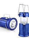 Jiawen Outdoor-Zelt einziehbaren USB Solar Camping-Lampe LED-Laterne Licht fuer das Wandern Notfaelle