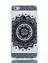 TPU Material Black Bilateral Flower Pattern Cellphone Case for Huawei P9Lite/P9/P8Lite