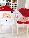 belle chaise noel couvre mr& mrs pere noel decoration de Noel salle a manger decoration couverture de chaise maison de partie
