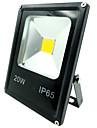 20w теплый холодный белый ip65 открытый безопасности лампы водонепроницаемый свет водить потока (85-265)