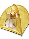 Кошка Кровати Животные Коврики и подушки В горошек Световой тент На каждый день Желтый Зеленый Розовый