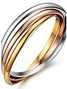 Браслеты Браслет цельное кольцо / Wrap Браслеты Титановая сталь OthersПрочный / Двойной слой / Мода / Винтаж / Панк / Регулируется /